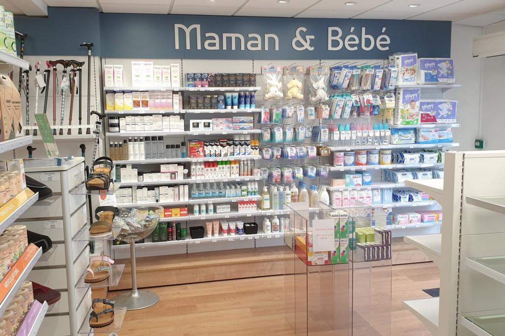 Agencement d'une pharmacie par Adeco Breizh à Lanester