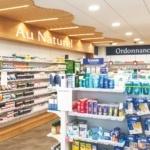 Agencement d'une pharmacie à Douarnenez réalisé par Adeco Breizh