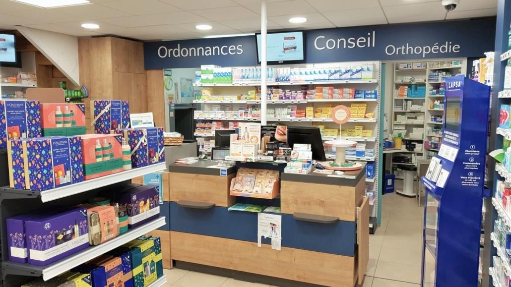 Pharmacie réalisée par Adeco Breizh