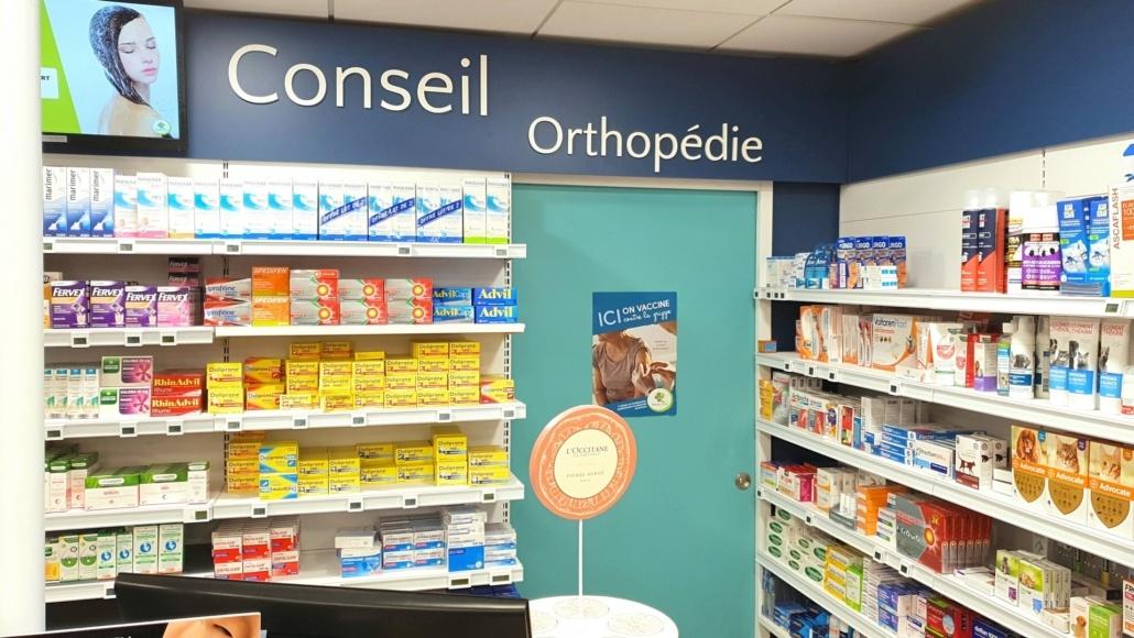Local orthopédie pour une pharmacie de l'Île de Ré