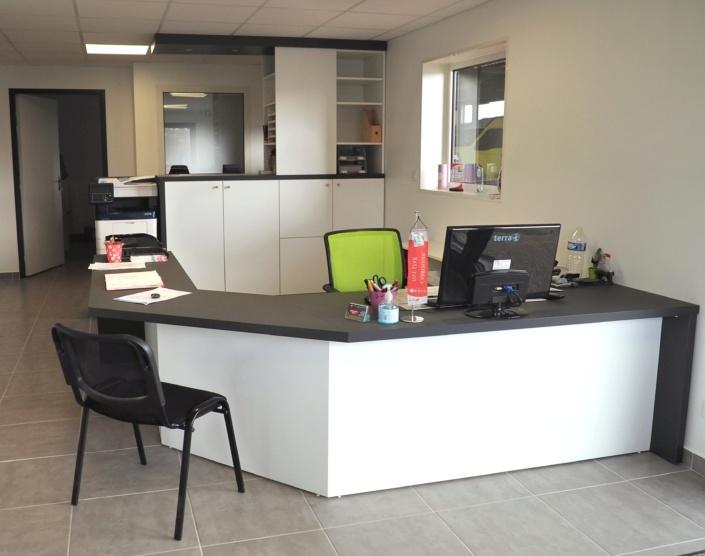 Aménagement d'un bureau à Pluneret