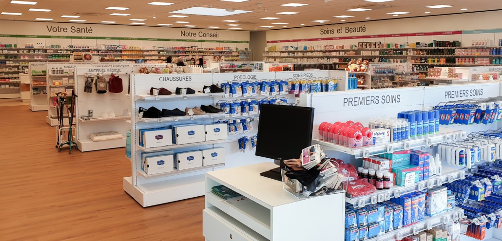 Rayons pharmacie Finistère