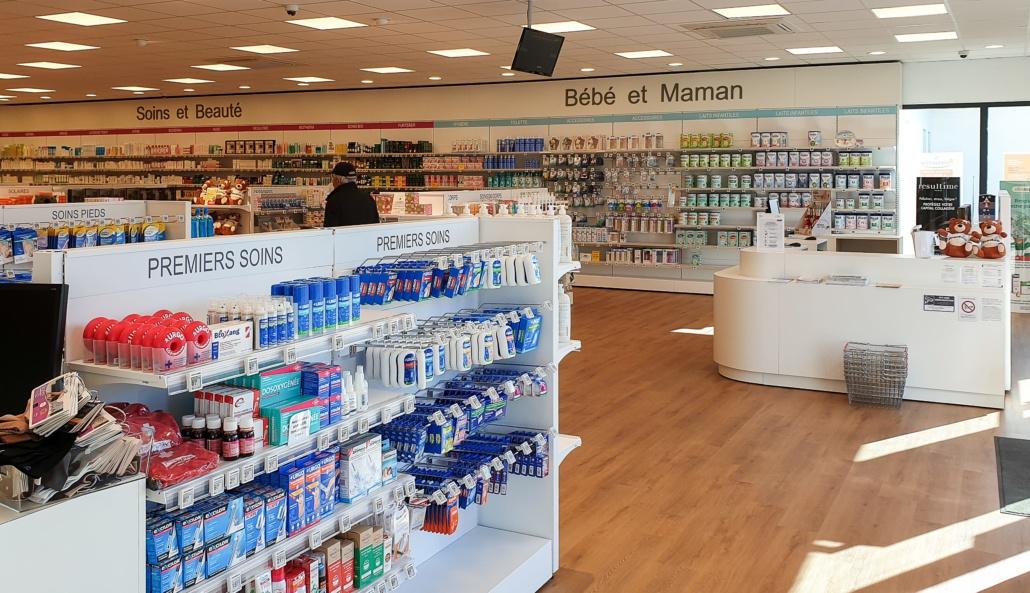 Accueil pharmacie Concarneau