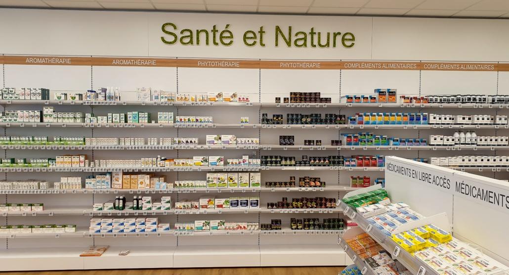 Pôle Nature pharmacie Bretagne