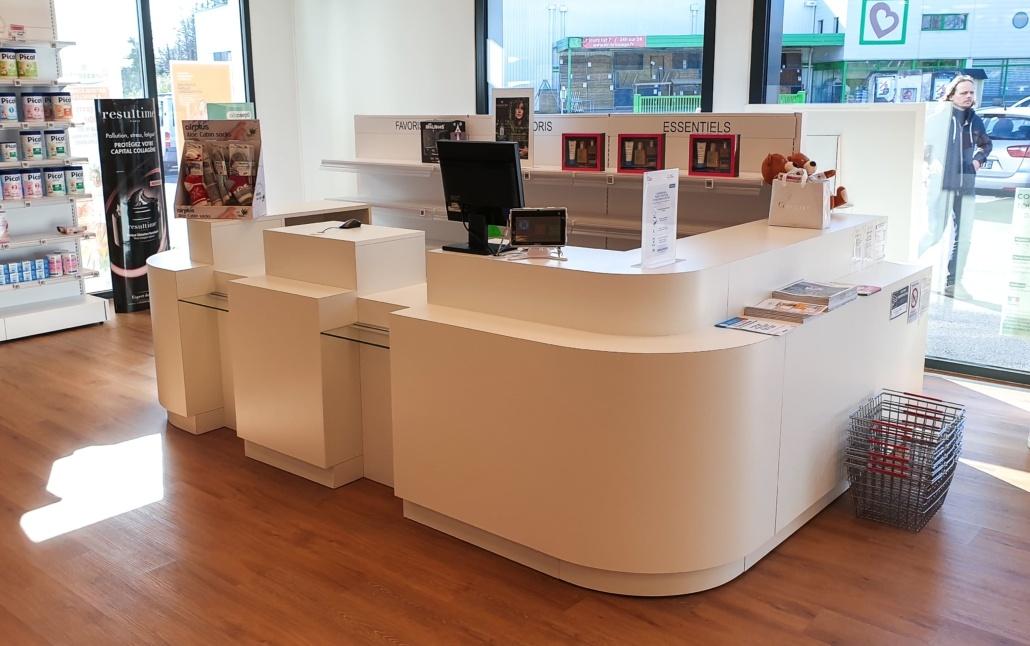 Caisse d'accueil pharmacie Bretagne