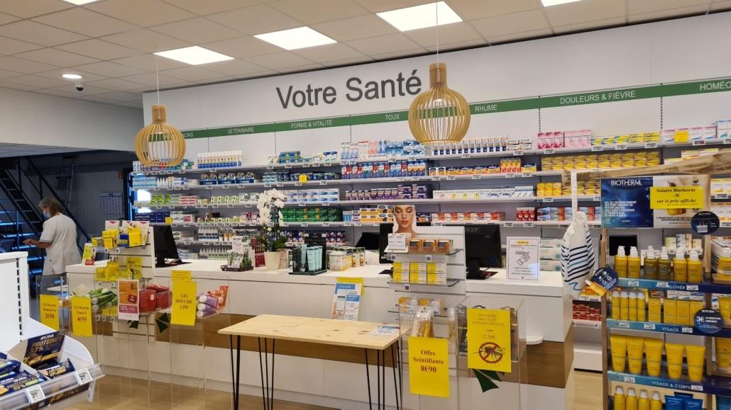 Agencement pharmacie Bretagne