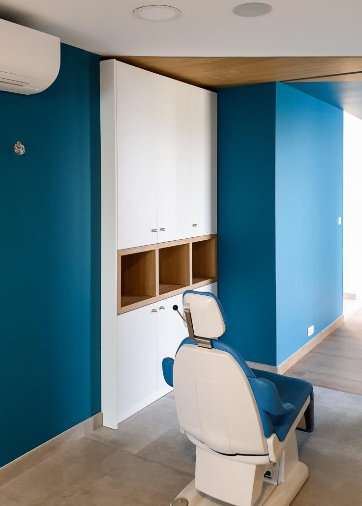Intérieur cabinet dentaire Thouaré