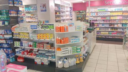 Brest-pharmacie-un aménagement Adeco Breizh