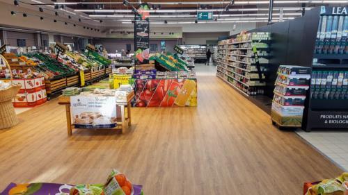 Guilers-centre commercial-un aménagement Adeco Breizh