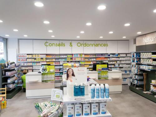 Hérouville Saint-Clair-pharmacie-un aménagement Adeco Breizh