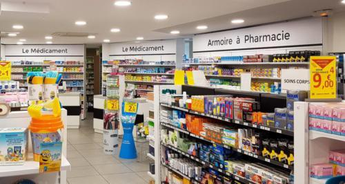 L'Hermitage-pharmacie-un aménagement Adeco Breizh
