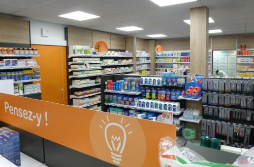 Mondeville-pharmacie-un aménagement Adeco Breizh