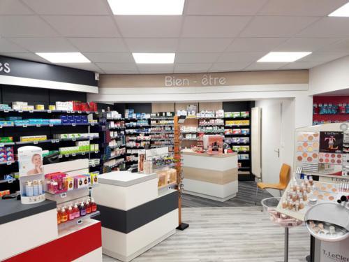 Saint Pierre Quiberon-pharmacie-un aménagement Adeco Breizh